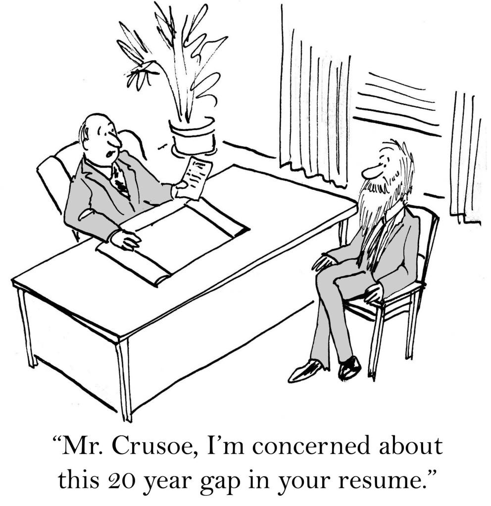 Crusoe's résumé
