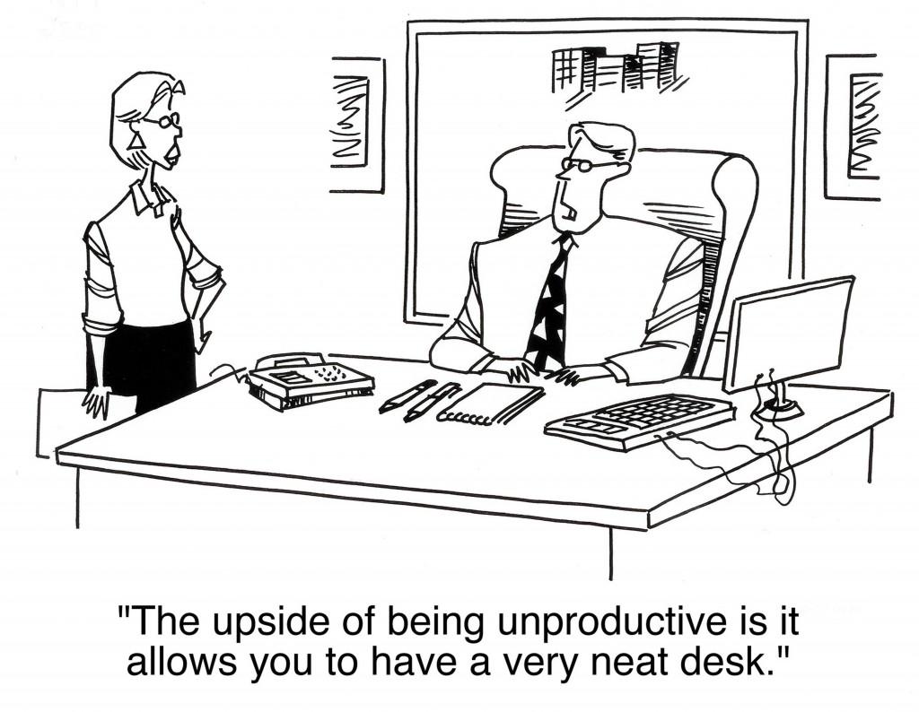 Unproductive?